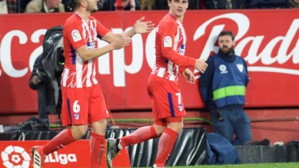 Espagne: un triplé de Griezmann sublime l'Atletico