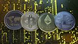 Crypto 'noobs' learn to cope with wild swings in digital coins