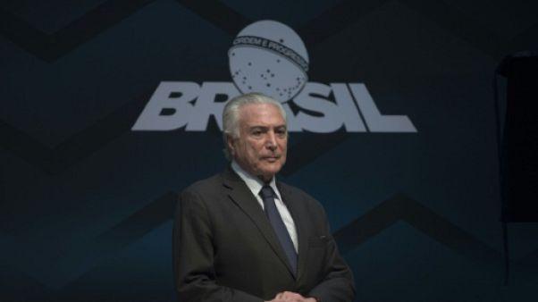 Brésil: Temer candidat à sa succession, une idée qui monte