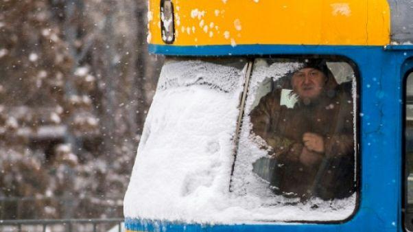 De Moscou à Paris, l'Europe grelotte sous un froid sibérien