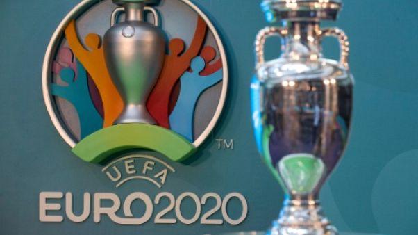 Euro-2020: les 24 équipes se partageront 371 millions d'euros