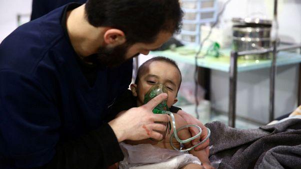 وكالتان: وزارة الدفاع الروسية تعتزم إجلاء المرضى والمصابين من الغوطة