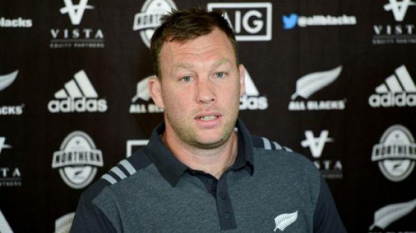Rugby: fin de carrière internationale pour le néo-zélandais Wyatt Crockett