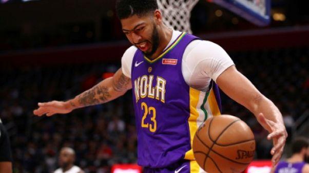 NBA: les Pelicans continuent sur leur lancée