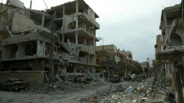 Syrie: raids et tirs de roquette dans la Ghouta orientale malgré l'entrée en vigueur d'une trêve