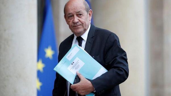 وزير خارجية فرنسا: الأولوية لإدخال المساعدات للغوطة الشرقية