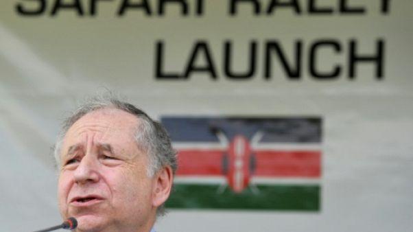 Jean Todt veut que le Safari Rally serve d'exemple pour la sécurité routière en Afrique