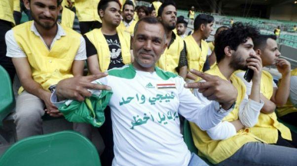 A Bassora, les fans de foot irakiens veulent dépasser l'hostilité envers l'Arabie saoudite