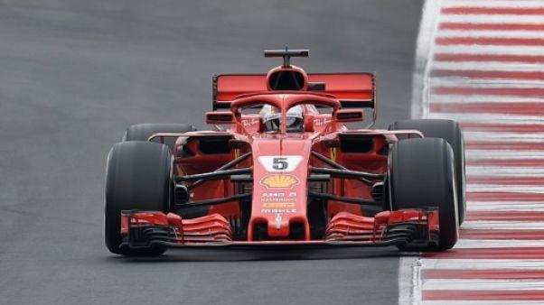 F1: Vettel le plus rapide lors de la 2e journée d'essais de pré-saison
