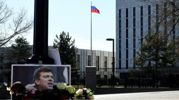 Dans un message à Poutine, la ville Washington honore Boris Nemtsov