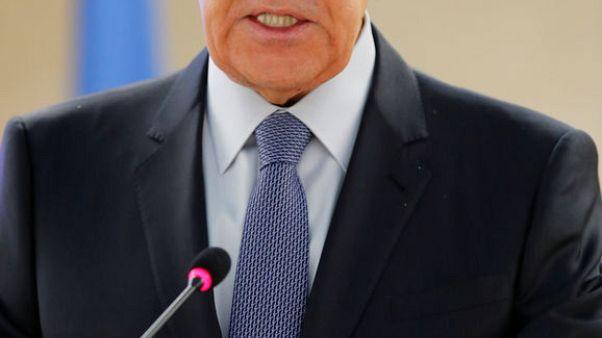 إنترفاكس: لافروف يتهم أمريكا بانتهاك اتفاق الأسلحة النووية