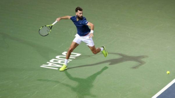 Tennis: Benoît Paire éliminé au 2e tour à Dubaï