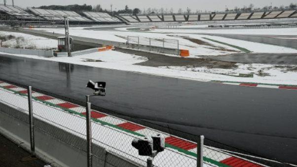 F1: reprise des essais de Barcelone, perturbés par la neige