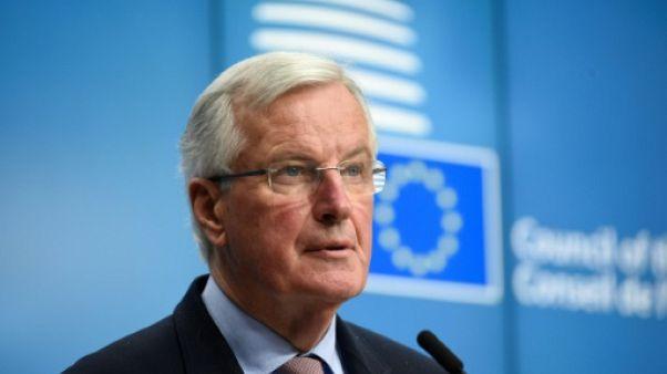 """Brexit: il faut """"accélérer"""" pour réussir la négociation, insiste Barnier"""