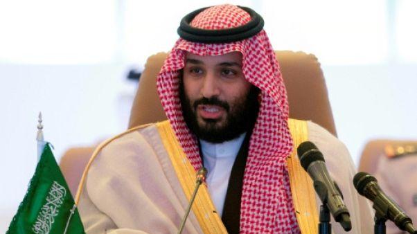 Le prince héritier saoudien à Washington le 19 mars, selon une source officielle