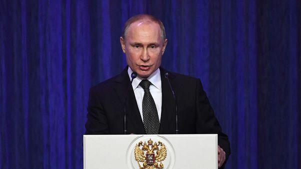 بوتين: روسيا أجلت مجموعة من المدنيين من الغوطة الشرقية بسوريا