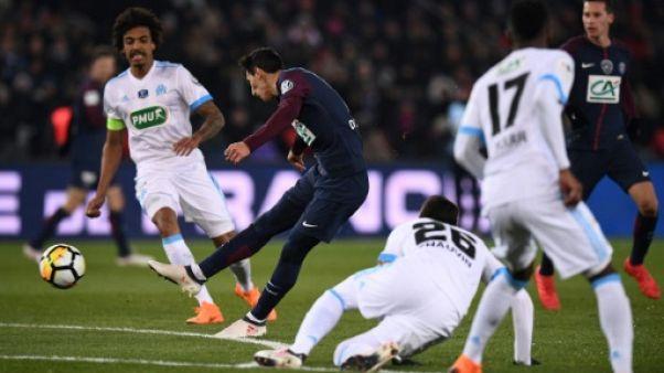 """Coupe de France: sans Neymar, le PSG s'adjuge l'Acte III du """"clasico"""" et va en demies"""