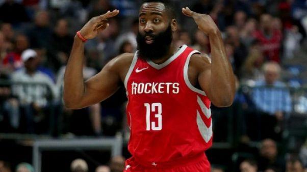 NBA: Houston sur sa planète, Golden State revendicatif