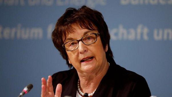 وزيرة ألمانية: لا دليل حتى الآن على تورط روسيا في هجوم إلكتروني