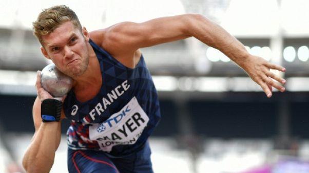 Mondiaux d'athlétisme en salle: Mayer, enfin libre dans sa tête