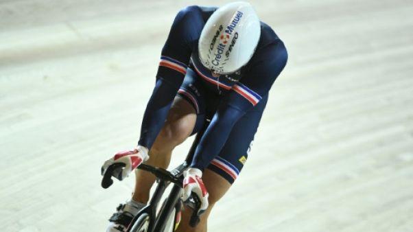 Mondiaux de cyclisme sur piste: Pervis et Lafargue éliminés en repêchages du keirin