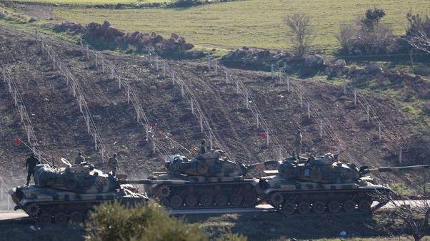 الجيش: مقتل 8 جنود أتراك وإصابة 13 في اشتباكات في عفرين السورية