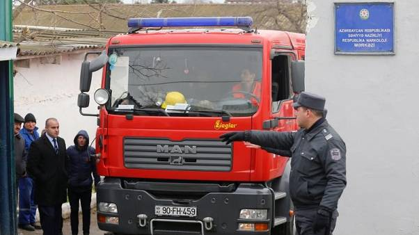مقتل 24 في حريق بمركز لعلاج الإدمان في أذربيجان