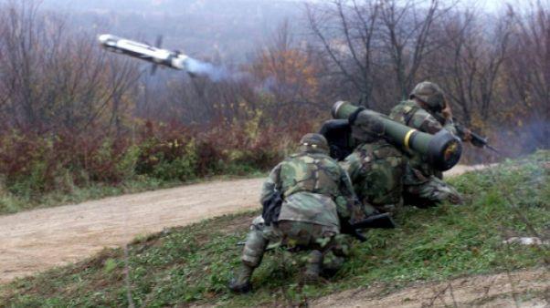"""La vente de missiles antichar américains à l'Ukraine permettra """"d'arrêter l'agresseur russe"""" (Kiev)"""