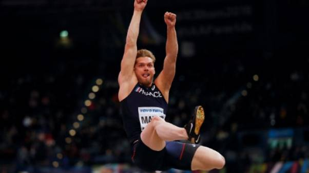 Athlétisme: Mayer bien parti, la sensation Ahouré aux Mondiaux en salle