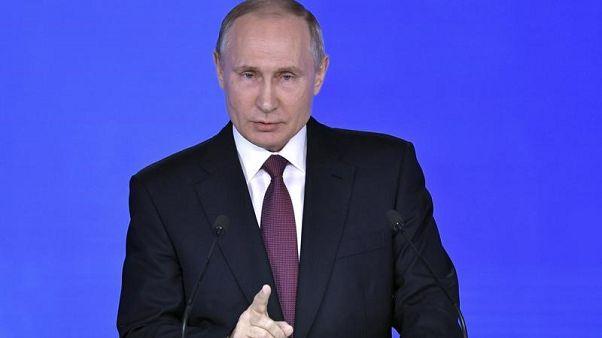 بوتين يقول قبل الانتخابات إنه لو تسنى له لكان منع انهيار الاتحاد السوفيتي