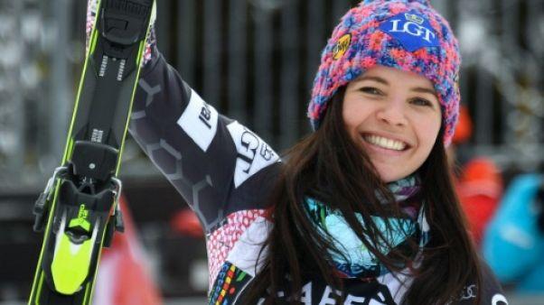 Ski: Weirather remporte le super-G de Crans-Montana et prend la tête du classement