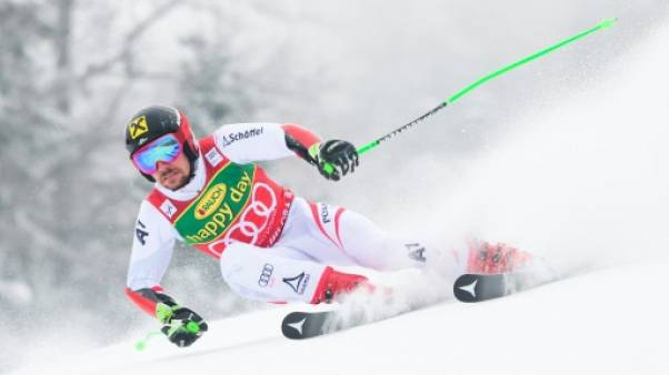 Ski: victoire et petit globe du géant pour Hirscher à Kranjska Gora