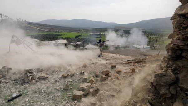 المرصد: طائرات تركية تقتل 36 من قوات موالية للحكومة السورية في عفرين