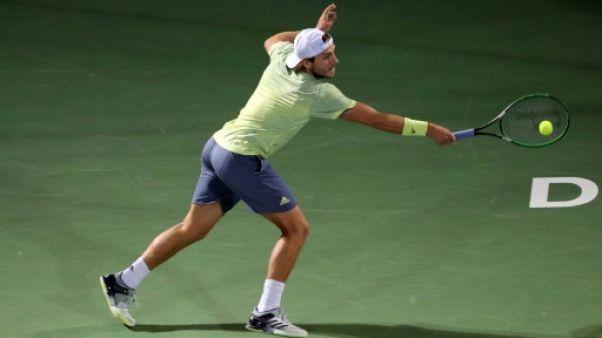 Tennis: Pouille, battu en finale à Dubaï, échoue aux portes du top 10