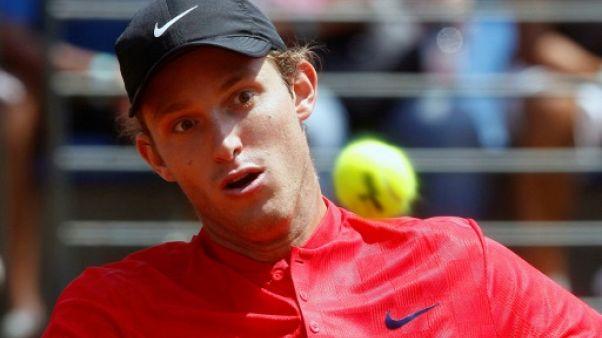 Tennis: en pleine ascension, Jarry défie Fognini en finale à Sao Paulo
