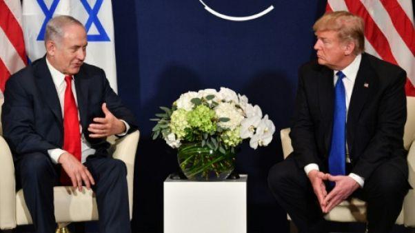 Ambassade américaine à Jérusalem: Netanyahu aimerait que Trump assiste à l'inauguration