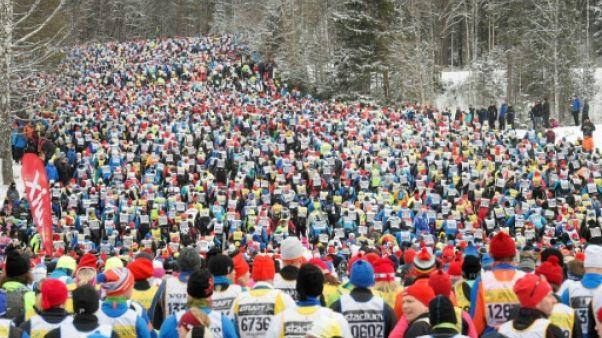 Ski de fond: 16.000 fondeurs à l'assaut de la Vasaloppet