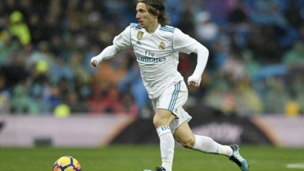 Real Madrid: Modric et Kroos reprennent l'entraînement, à deux jours du PSG