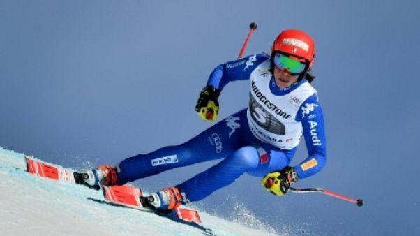 Ski: victoire de Brignone à Crans-Montana, le petit globe du combiné pour Holdener