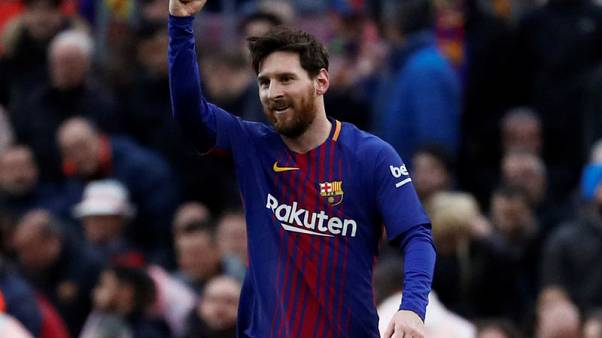 ميسي يسجل الهدف 600 في مشواره في مواجهة برشلونة ضد اتليتيكو