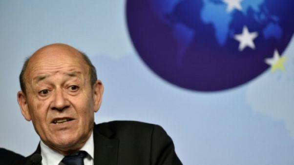 "Syrie, balistique: la France va avoir un ""dialogue franc"" lundi avec l'Iran"
