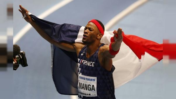 Mondiaux d'athlétisme en salle: Manga en bronze au 60 m haies, victoire de Pozzi