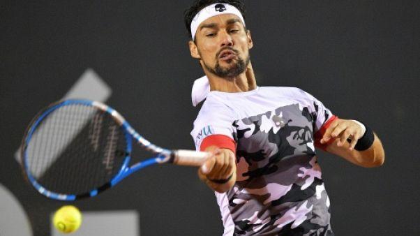 Tennis: Fognini s'offre un 6e titre, sur terre battue, à Sao Paulo