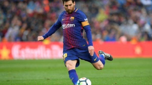 Espagne: le Barça de Messi en patron, le titre en vue