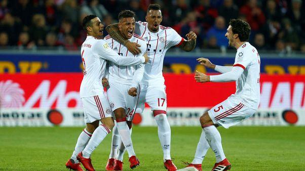 بايرن يفوز مجددا ومهاجمان مخضرمان يهزان الشباك في الدوري الألماني