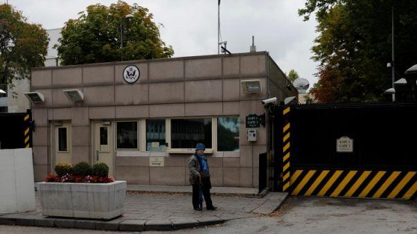 السفارة الأمريكية في أنقرة تغلق أبوابها الاثنين بسبب تهديد أمني