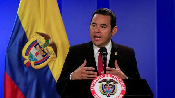 جواتيمالا تنقل سفارتها في إسرائيل إلى القدس في مايو أيار