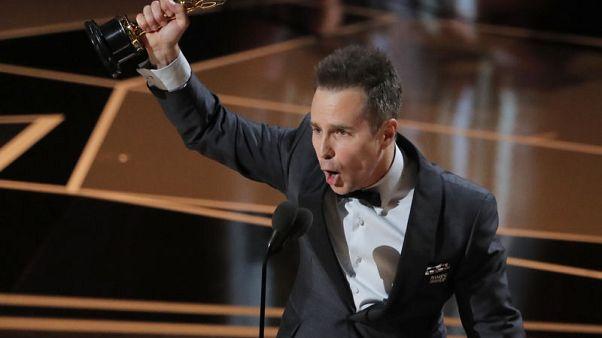سام روكويل يفوز بجائزة أوسكار أفضل ممثل مساعد