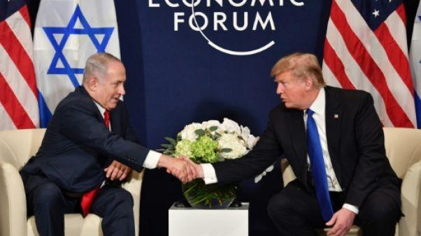 """Netanyahu à Washington pour rencontrer son """"véritable ami"""" Trump, loin des affaires"""