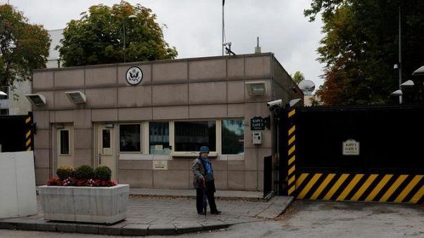 إغلاق السفارة الأمريكية في أنقرة اليوم بسبب تهديد أمني